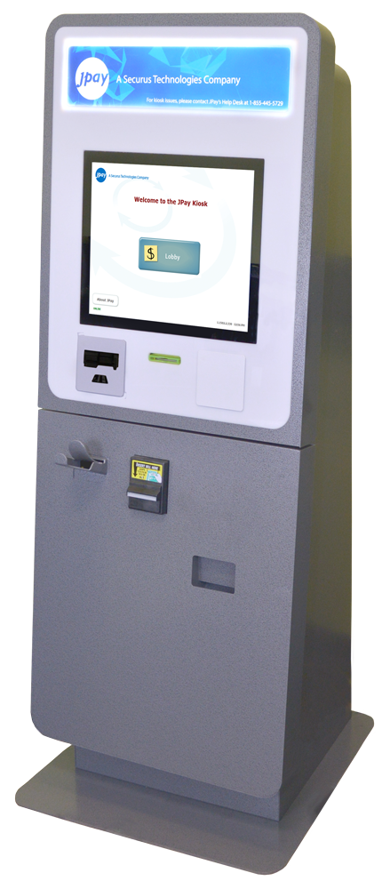 JPay Corrections Payments DUAL ALL-IN-ONE BOOKING AND LOBBY KIOSK